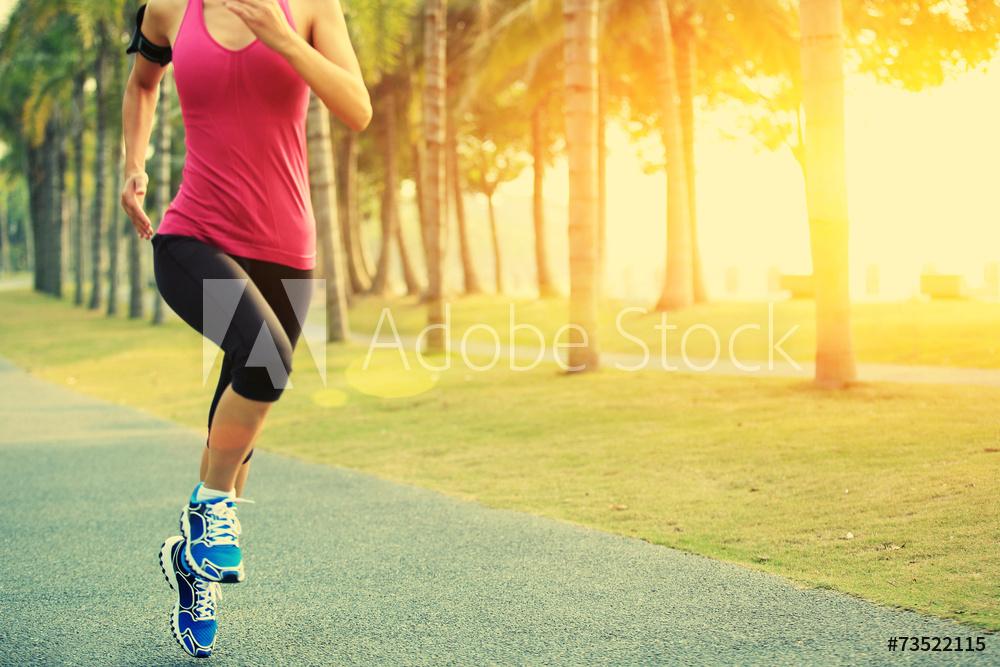 Marche et course individuelle